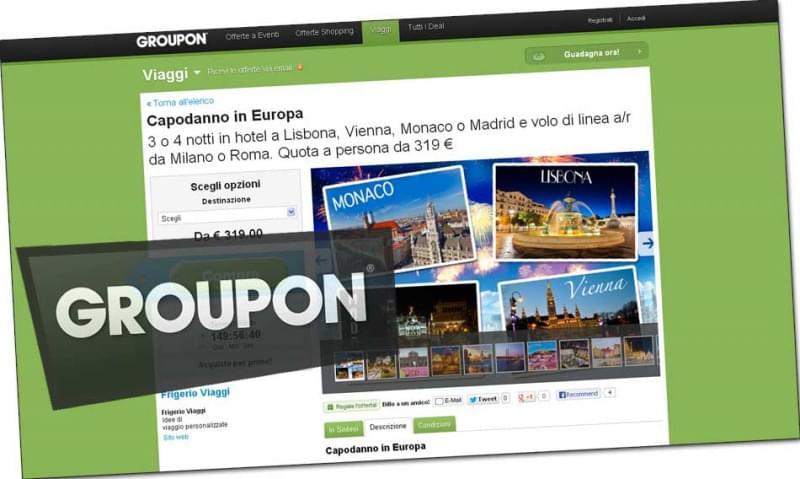 Acquistare viaggi su Groupon: info, consigli ed opinioni!