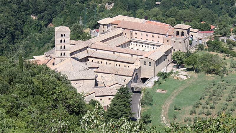 06 monastero di santa scolastica subiaco
