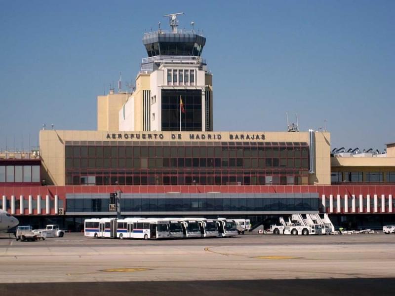 1 aeroporto madrid