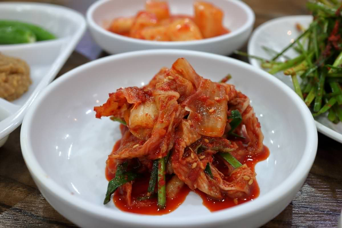 1 kimchi