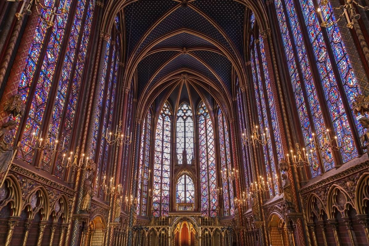 1 sainte chapelle visita