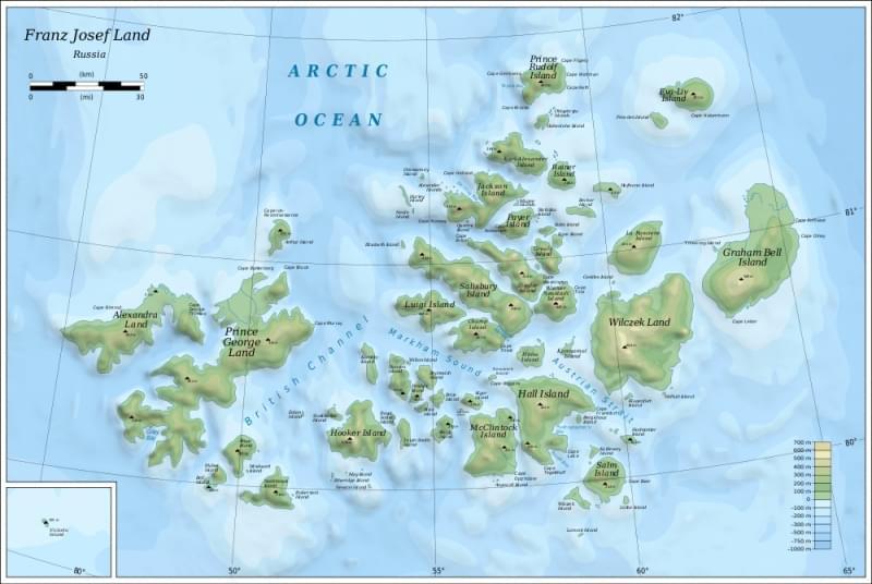 terre più a nord del mondo