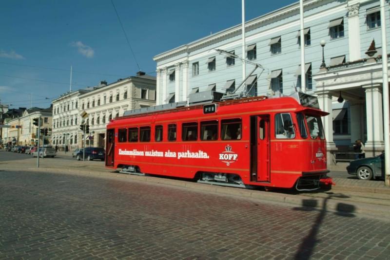 16 sparakoff pub tram, helsinki