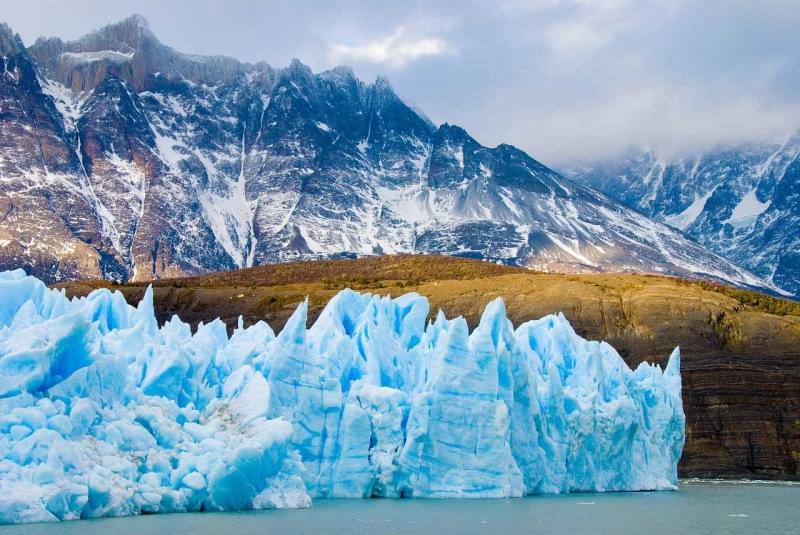 17 campo di ghiaccio patagonico sud