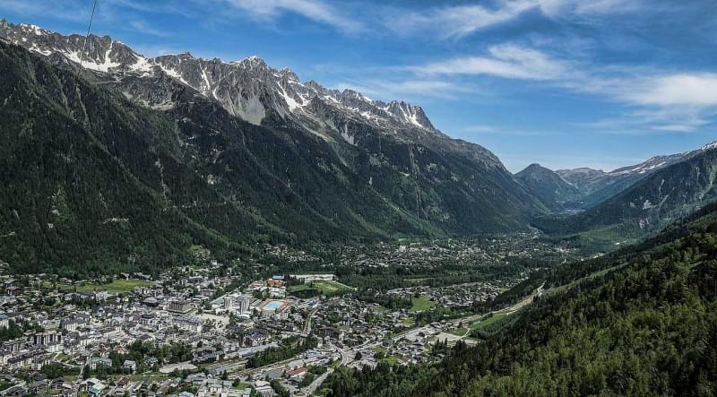18 chamonix mont blanc paesaggio