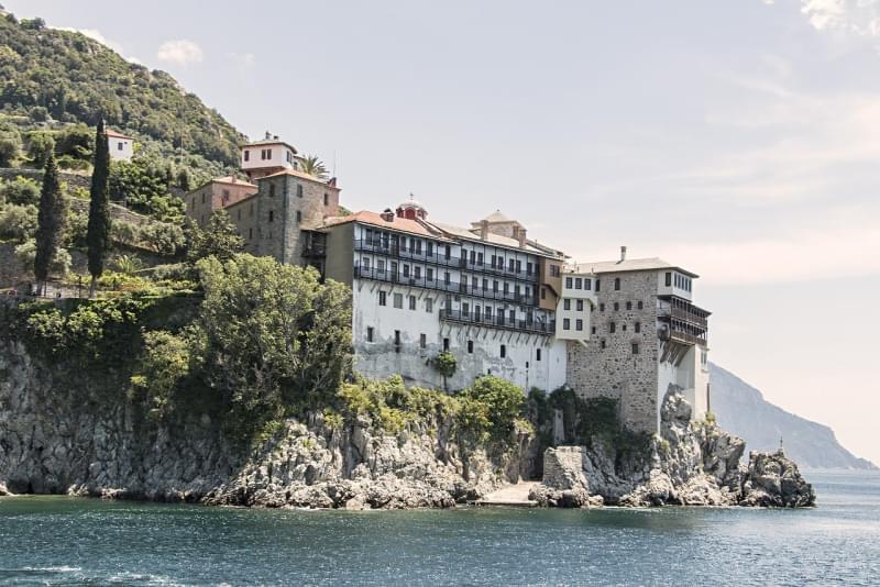 Monastero di Osiou Grigoriou - Grecia