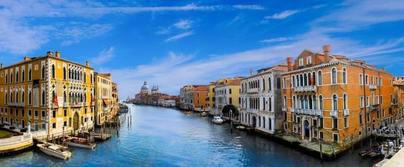 Canale di Venezia dall'alto