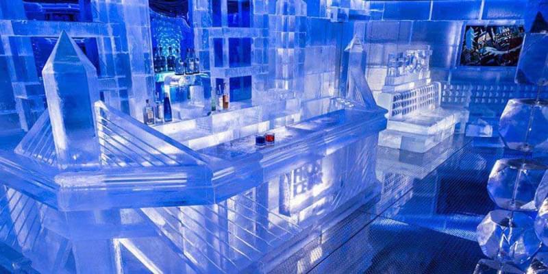 25 ice bar canada