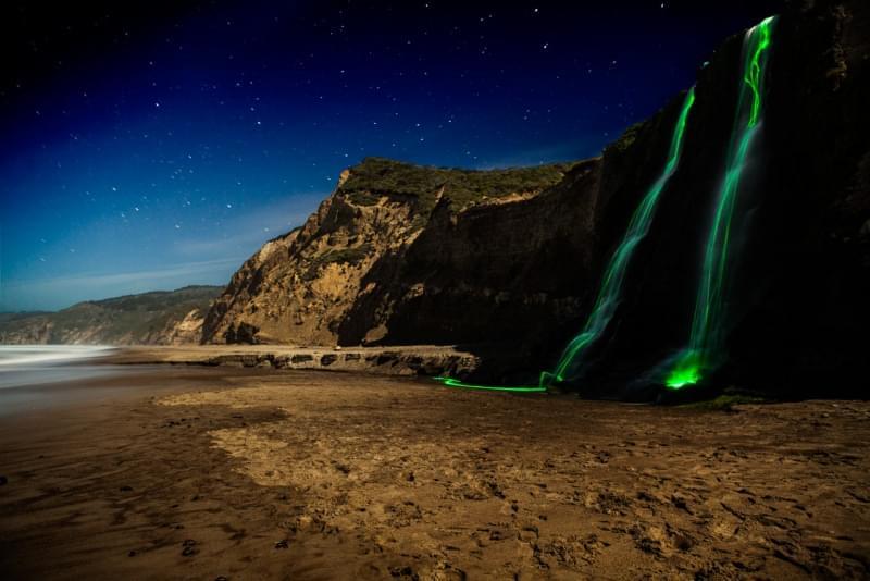 3 cascate luminose california