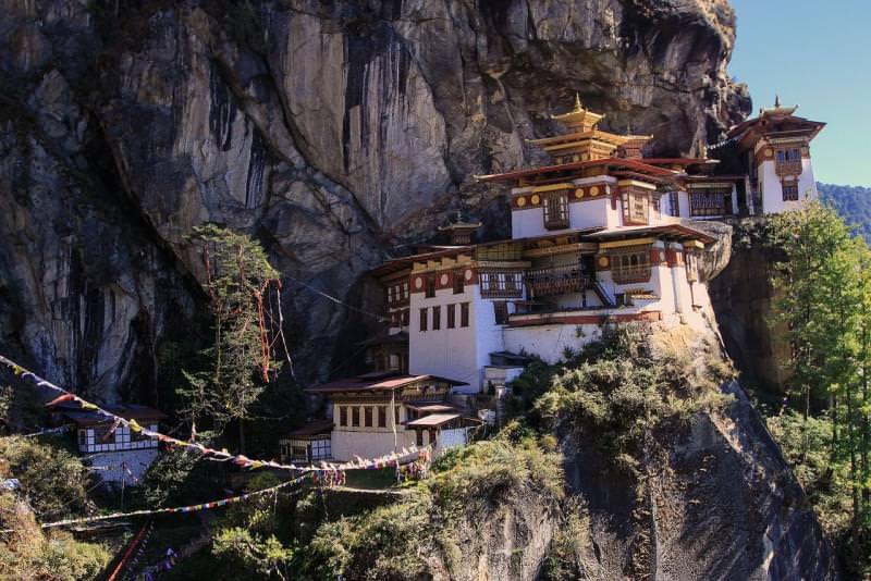 Monastero di Taktsang o Nido della Tigre - Bhutan