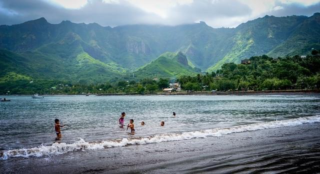 spiaggia isole marchesi polinesia