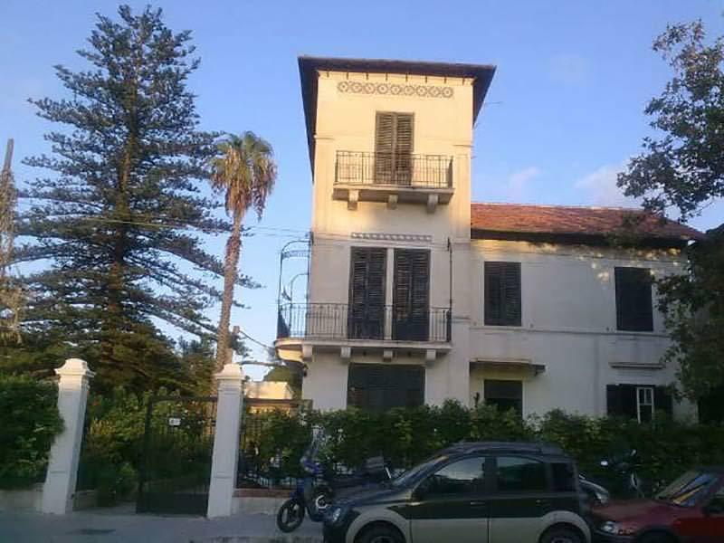 Villa Caboto, Mondello