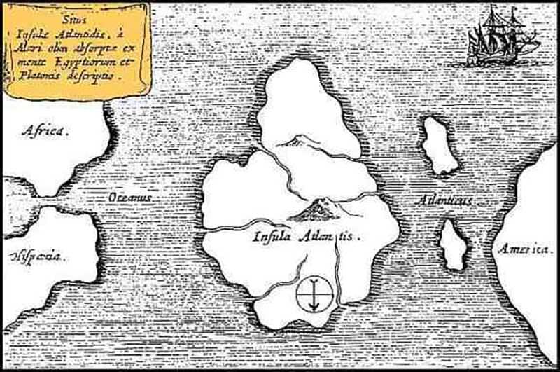5 atlantide mappa