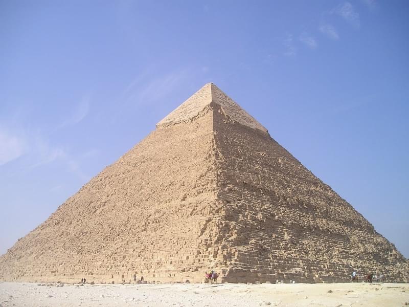 5 piramide di chefren