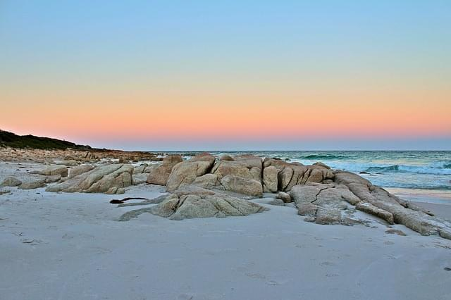 spiaggia bianca tasmania