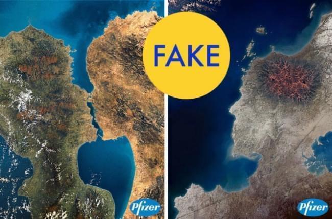 isole degli amanti fake