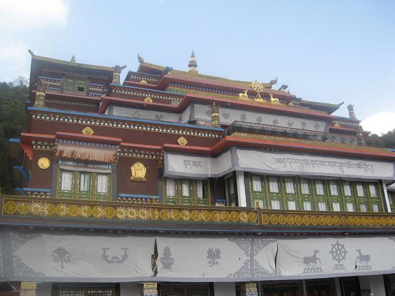 Monastero di Rumtek - India