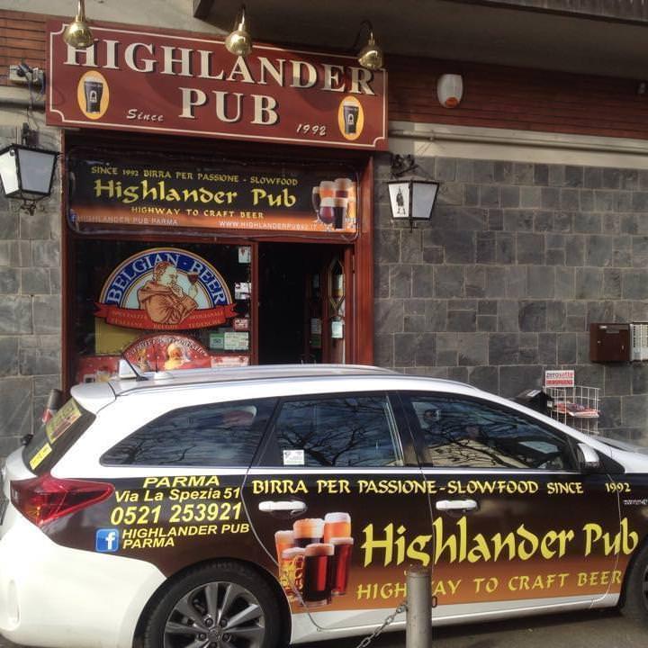 8 highlander parma