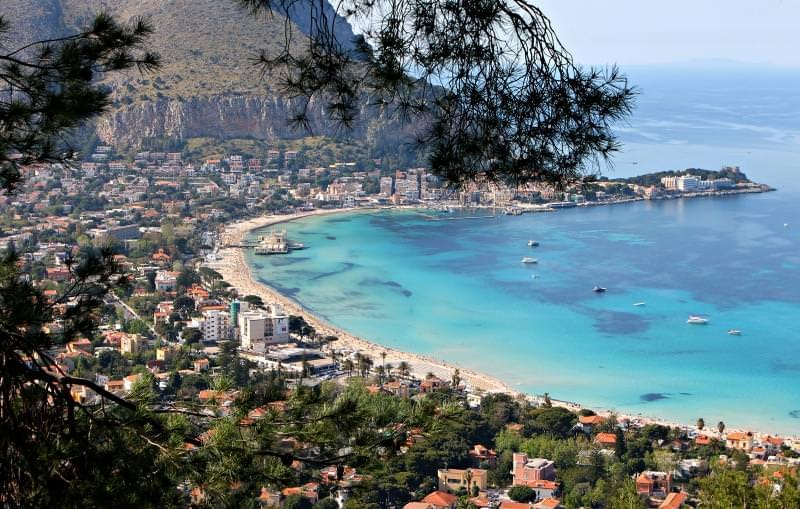 spiaggia di mondello, Palermo