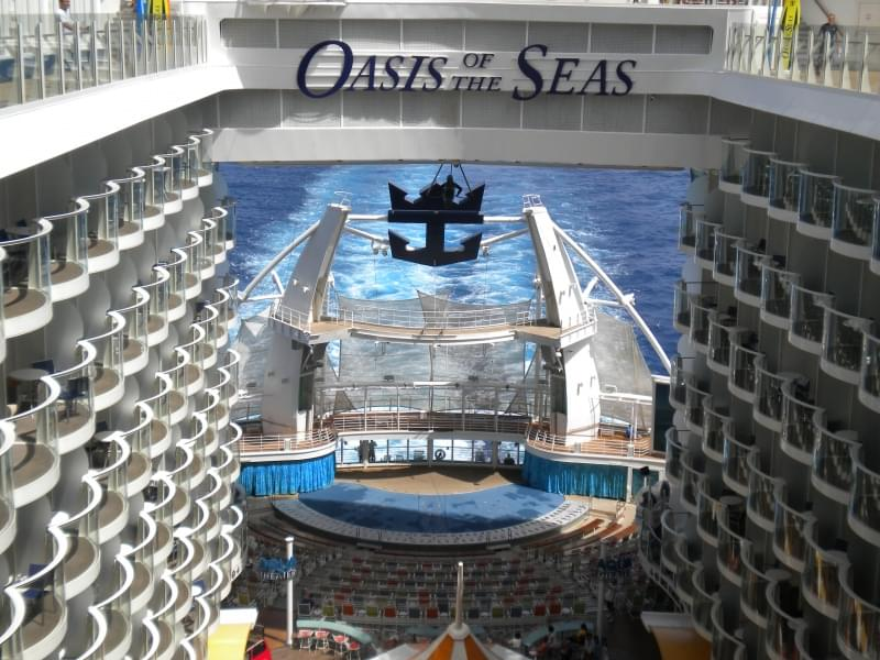 3 - Oasis of the seas - Royal Caribbean