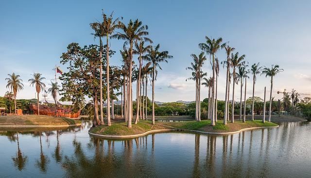Playa el Agua nell'isola di Margarita