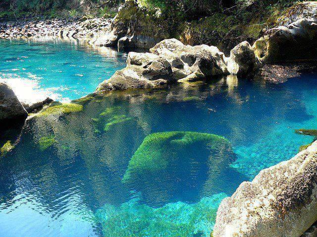 Piscina naturale in Cile