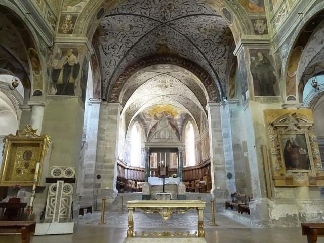 abbazia di farfa interno