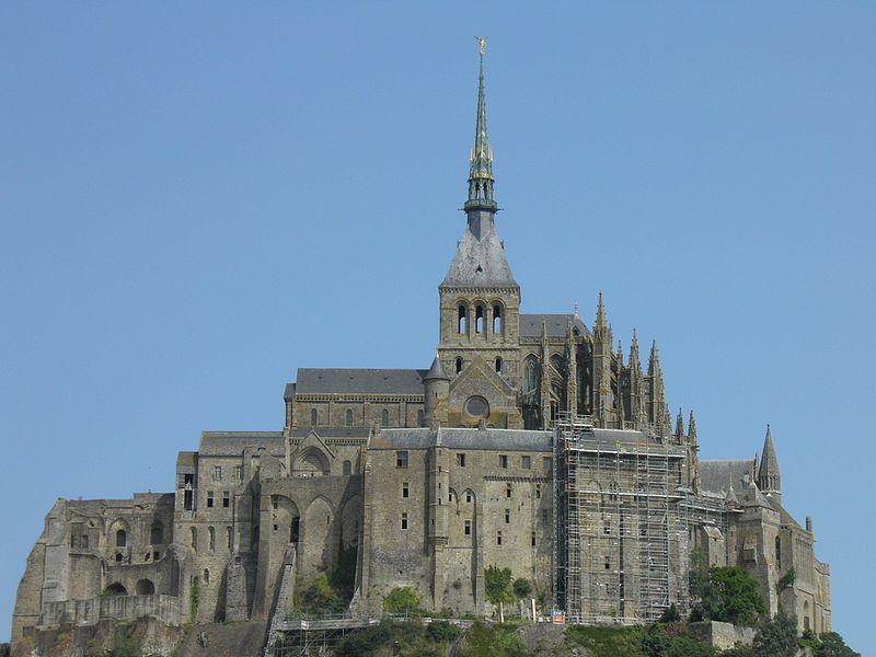 Abbazia di Mont Saint-Michel - Francia