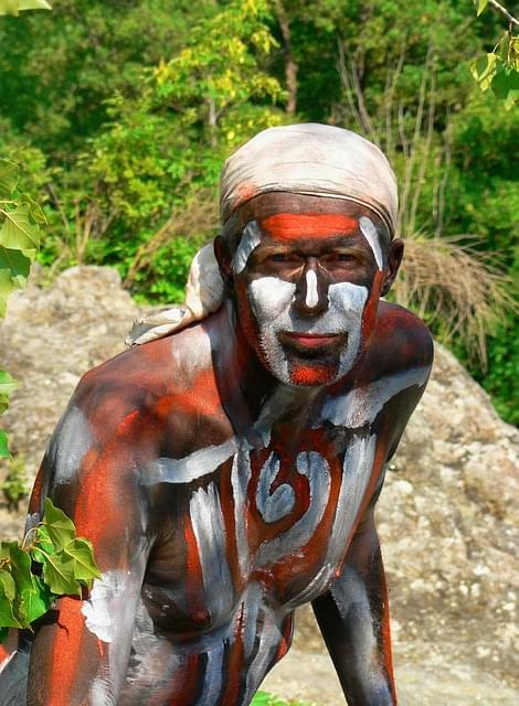 aborigeno isole tiwi australia