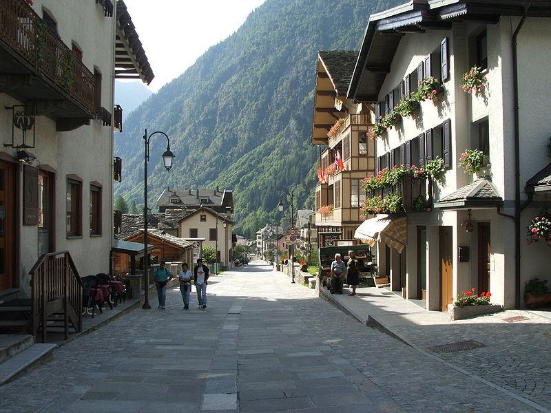 Alagna Valsesi, Piemonte