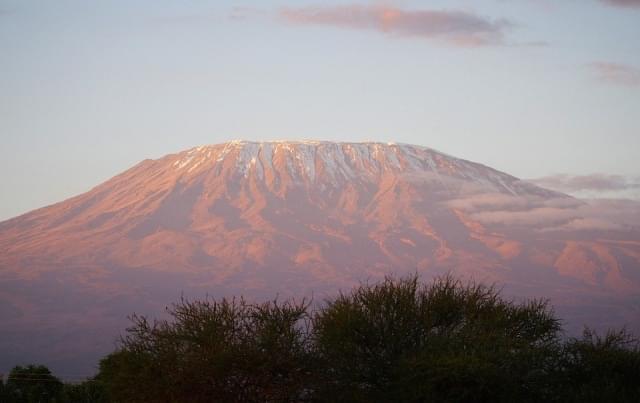 alba kilimanjaro africa kenia