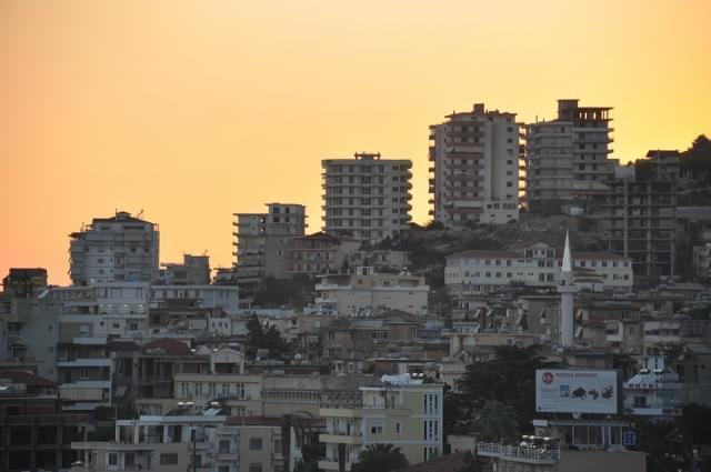 albania saranda edifici