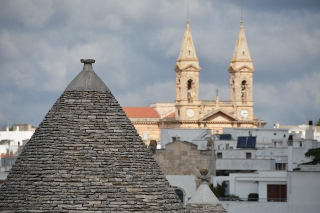 alberobello veduta sulla basilica
