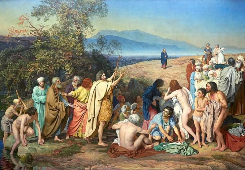 alexander ivanov apparizione di cristo