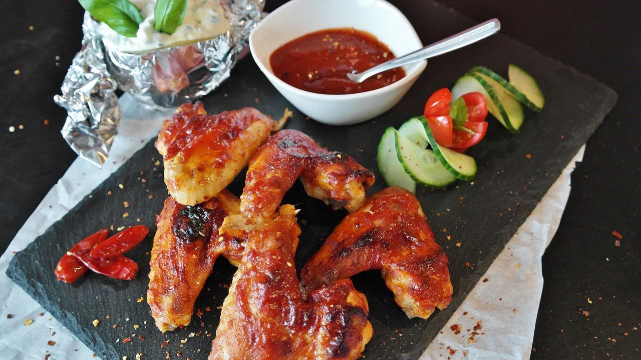 deliziose ali di pollo
