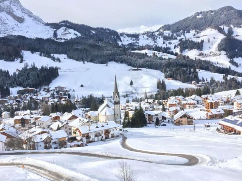 Alta Badia, la magia della neve