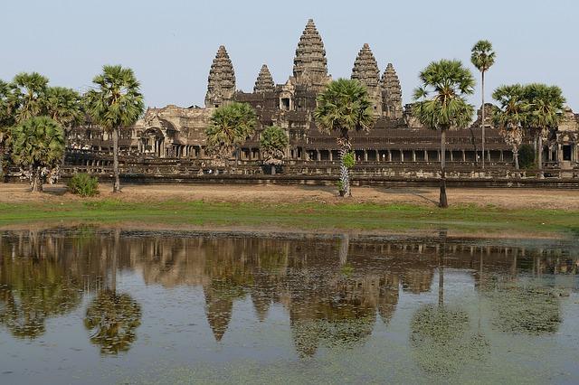 angkor angkor wat cambogia tempio