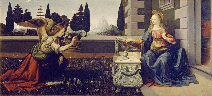 Annunciazione, Leonardo da Vinci