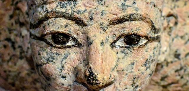 volto statua antico egitto