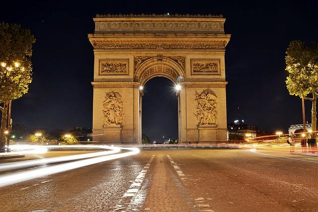 arc de triomphe arco triomphe
