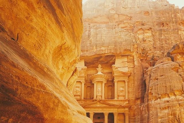 archeologico citta petra giordania 1