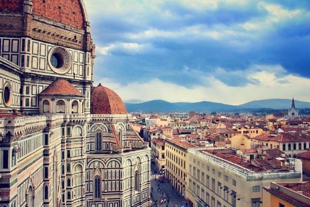 Architettura di Firenze dall'alto