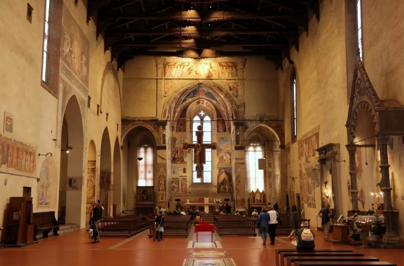 arezzo san francesco interno