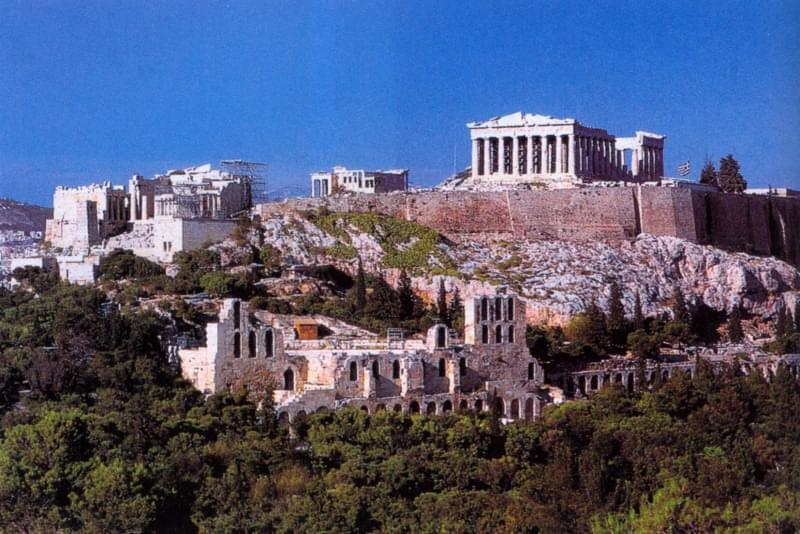 Atene acropoli 82