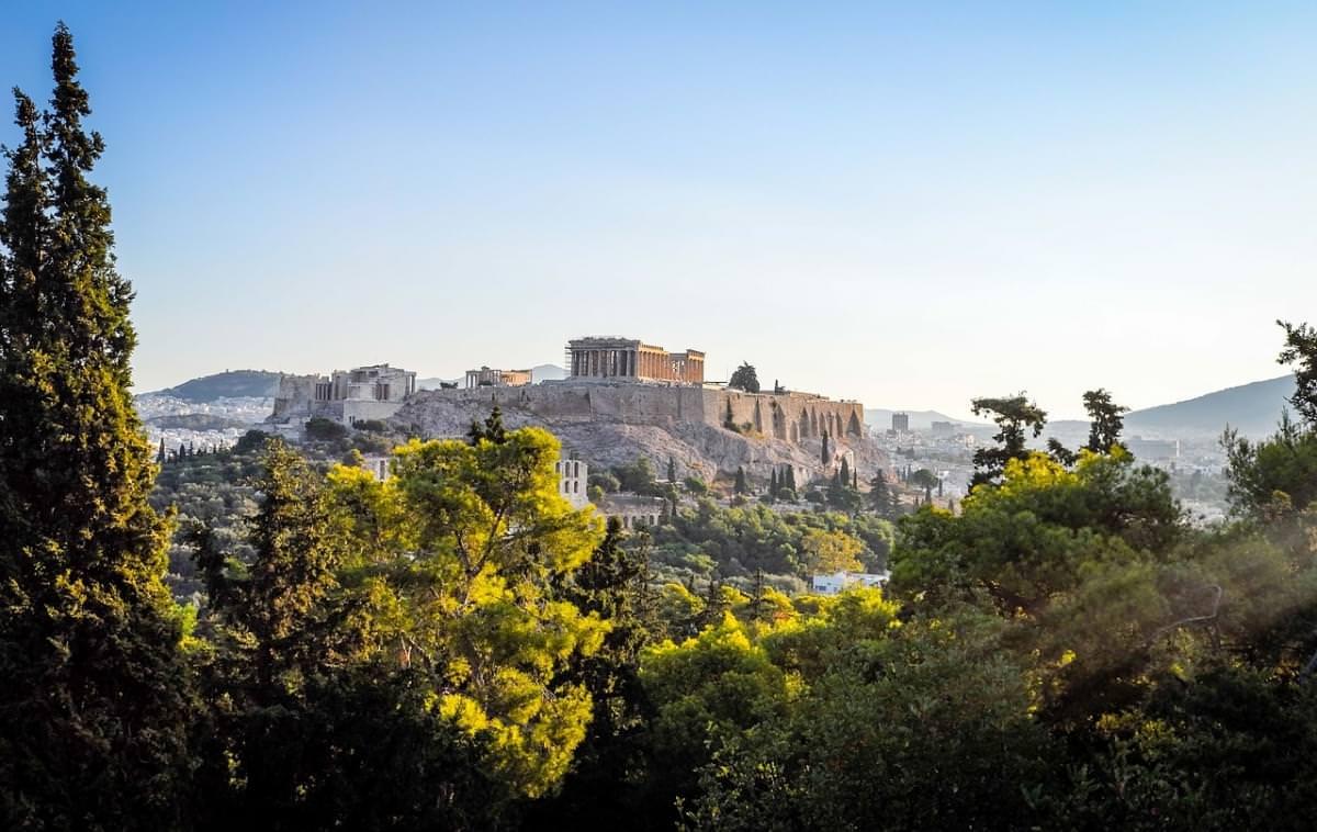 atene acropoli il tempio greco
