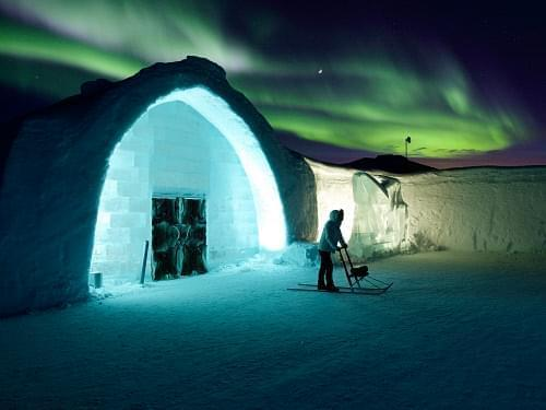 Aurora hotel in Alaska