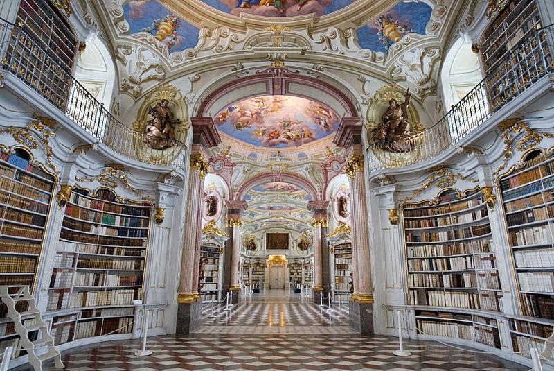 Biblioteca abbaziale di Admont, Austria
