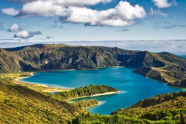 panorama delle isole azzorre