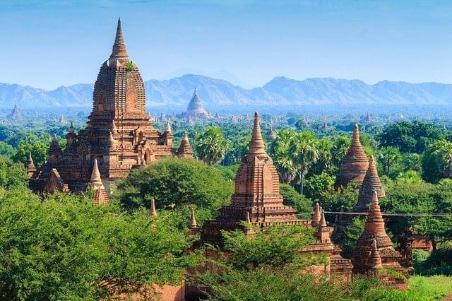 bagan myanmar area archeologica