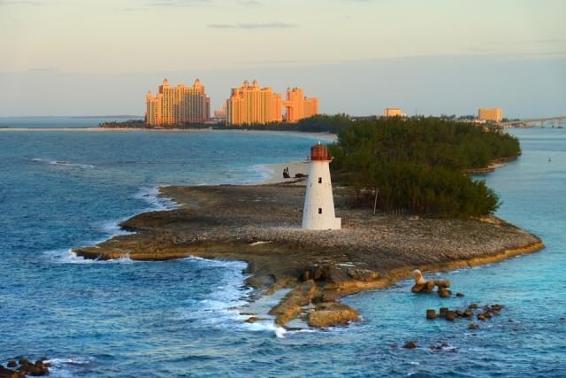 bahamas faro di nassau caraibi